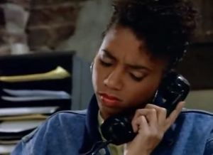 """I'll just check my caller ID, and... Oh, right, it's still the '80s."""