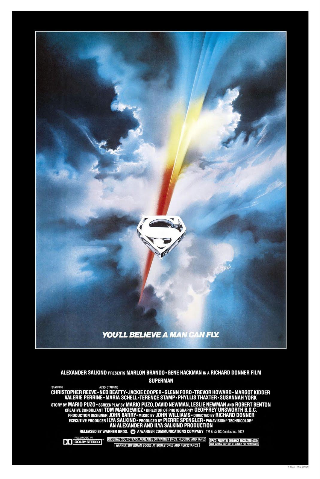 Random Warner Bros  – Superman: The Movie | macmcentire